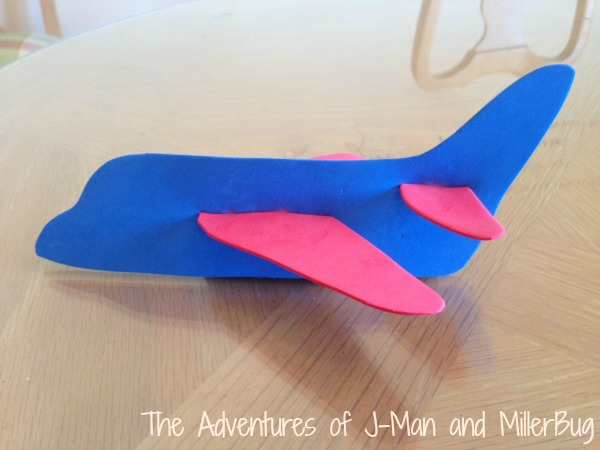 Easy Toddler Craft 3d Foam Airplanes Mom Unleashed