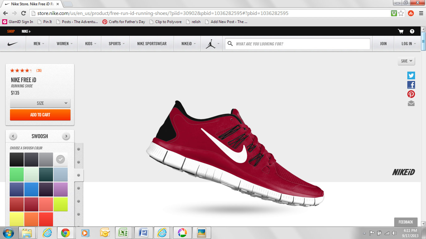 nike free customize