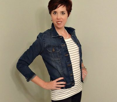 4 Ways to Style a Demin Jacket and a Great Lee Jeans Giveaway!