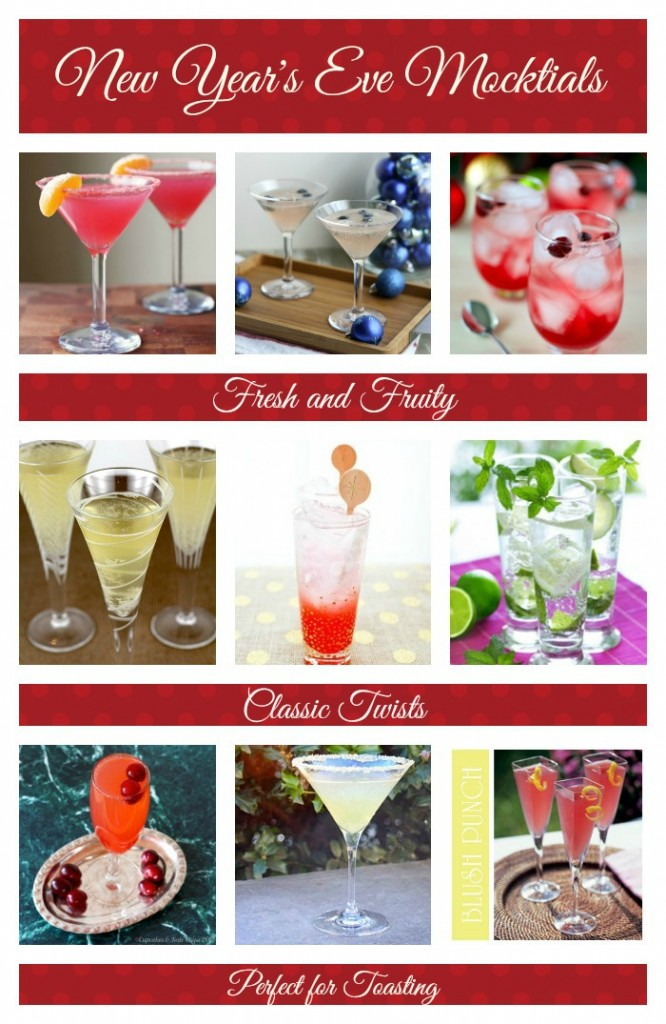 New Years Eve Mocktails