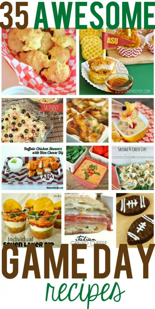 35 Awesome Game Day Recipes
