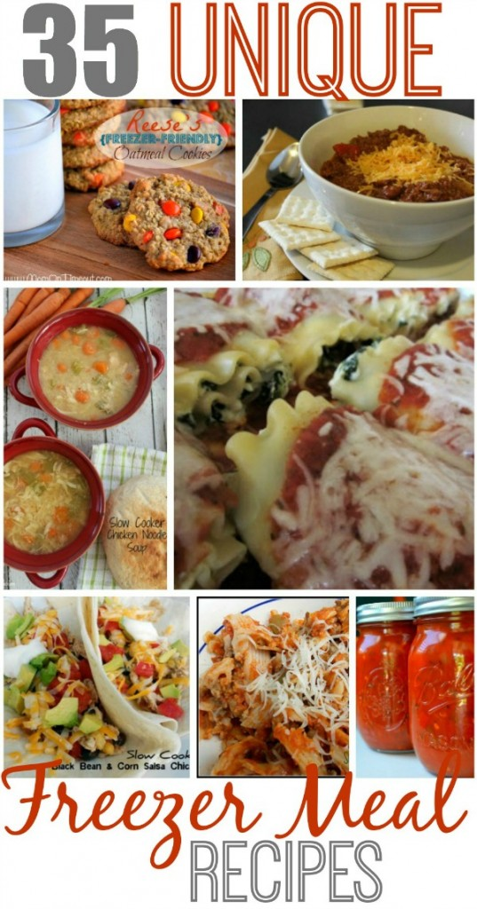 35 Unique Freezer Meal Recipes