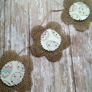 Brighten Your Home with a DIY Spring Burlap Banner Craft