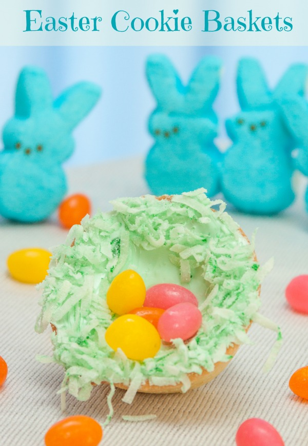 Easter Cookie Baskets
