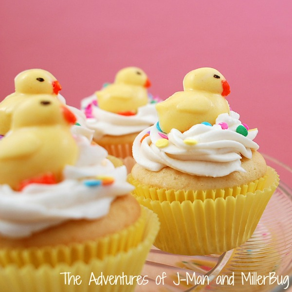 Easter Duck Cupcakes2