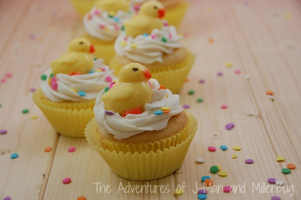 Easter Duck Cupcakes3
