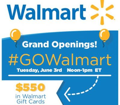 Join me at the #GOWalmart Twitter Party for Fun & Prizes!