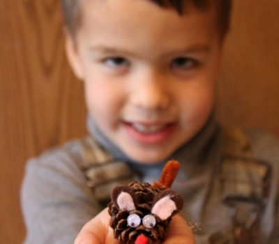 Christmas Mouse Craft For Kids