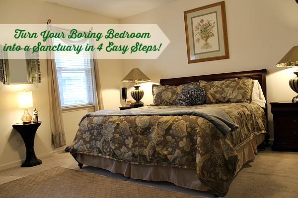 Turn Your Boring Bedroom into a Sanctuary