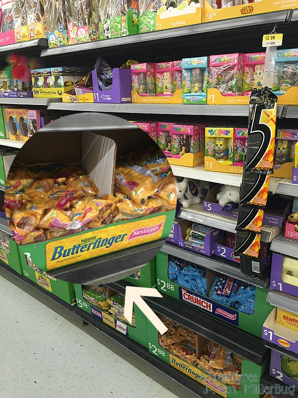 #EasterEssentials #ad In Store Butterfinger Shot