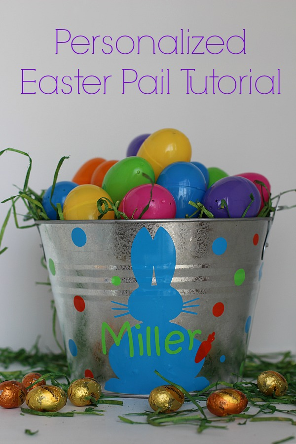 #EasterEssentials #ad Personalized Easter Pail Tutorial