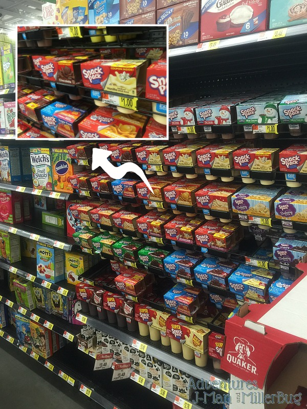 #SnackPackMixins #ad In Store Shot