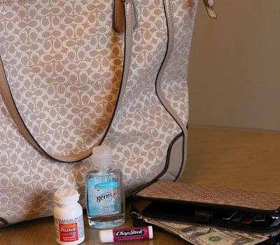 Six Essentials Every Mom Needs in Her Handbag