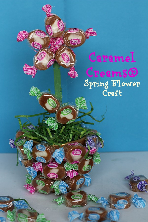 Caramel Creams Spring Flower Craft