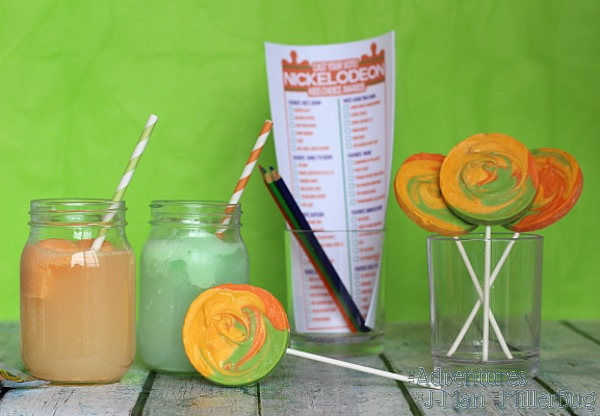 #KidsChoiceDrink #ad Kid's Choice Awards Party Ideas 1
