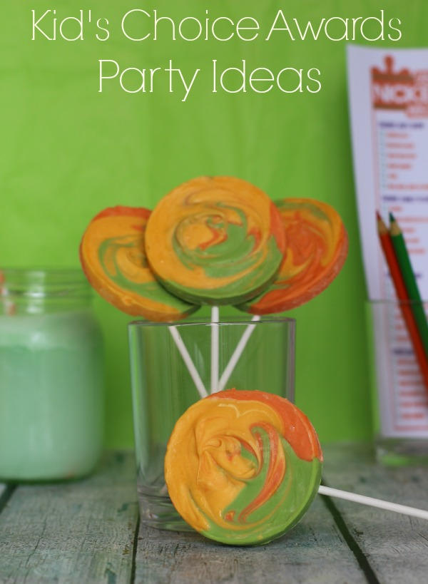 #KidsChoiceDrink #ad Kid's Choice Awards Party Ideas