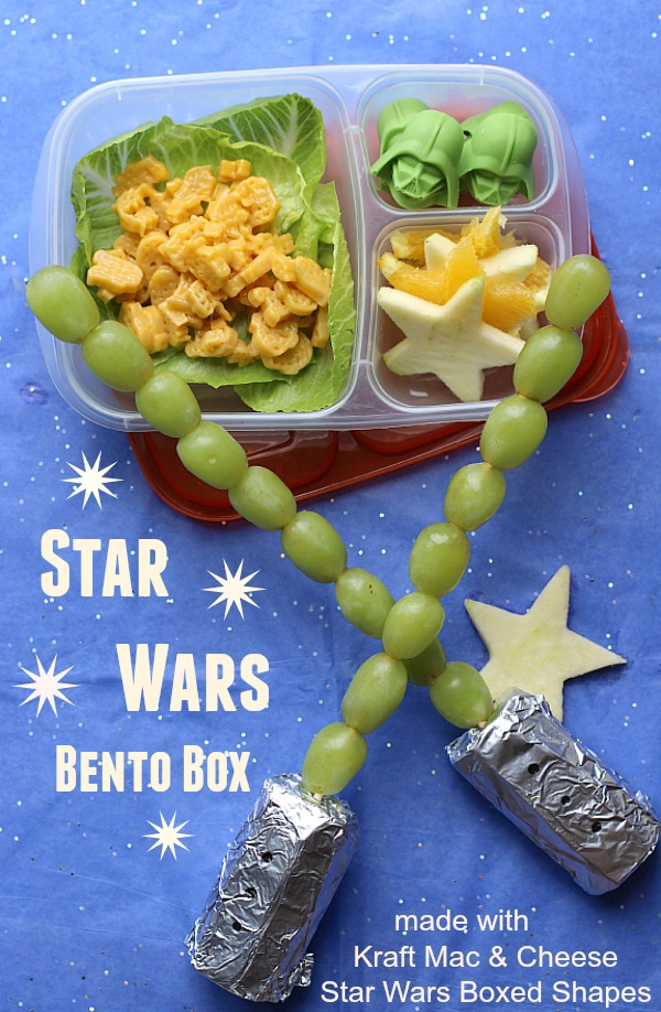 Kraft Reshoot Star Wars Bento Box