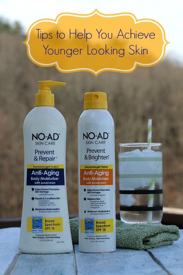 #HeartYourSkin #ad Tips to Help you Achieve Younger Looking Skin