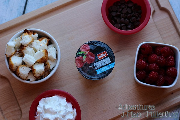#MullerMoment #ad Ingredients for Ice Cream Sundae Inspired Trifle