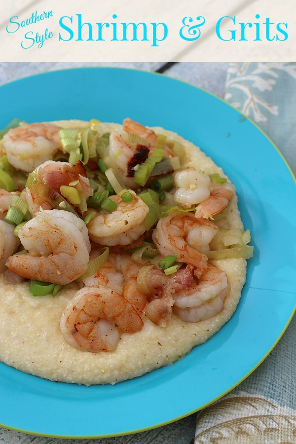 Southern Style Shrimp and Grits