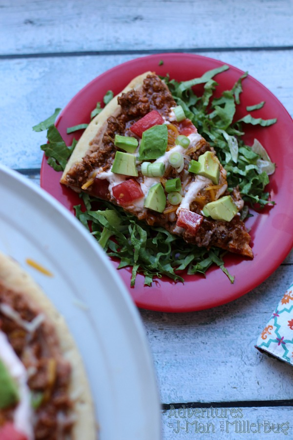 #WeekNightHero #ad Slice of Mexican Pizza