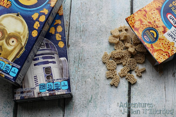 #Youknowyouloveit Kraft Star Wars Boxed Mac and Cheese