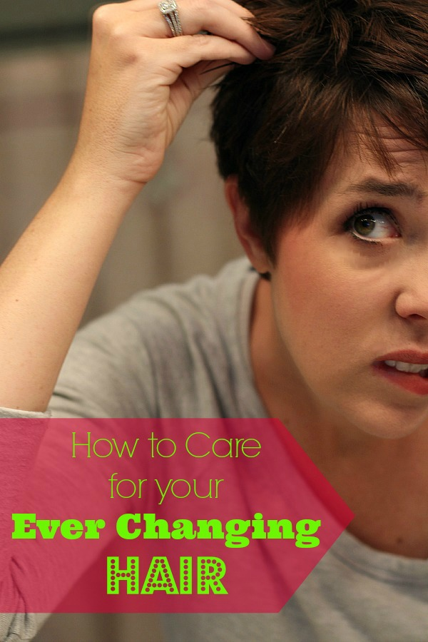 How to Care for your Ever Changing Hair