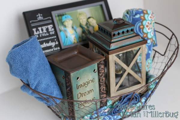 #WicklessWonders #ad Gift Basket 1