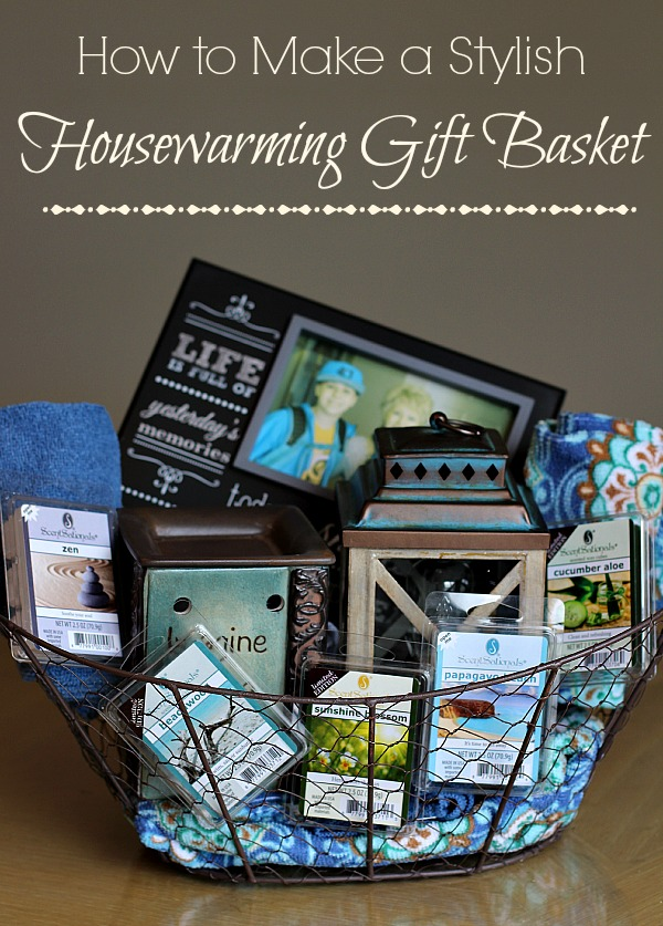 #WicklessWonders #ad How to Make a Stylish Housewarming Gift Basket