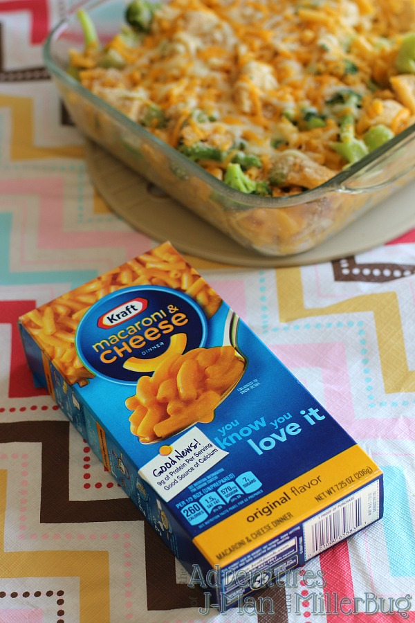 #YouKnowYouLoveIt #ad Kraft Mac and Cheese