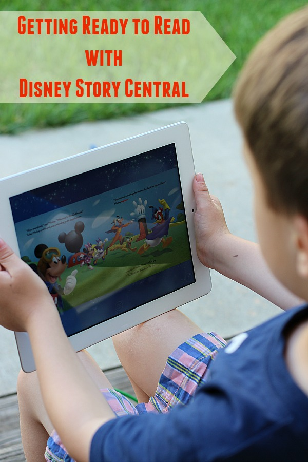 Getting Ready to Read with Disney Story Central