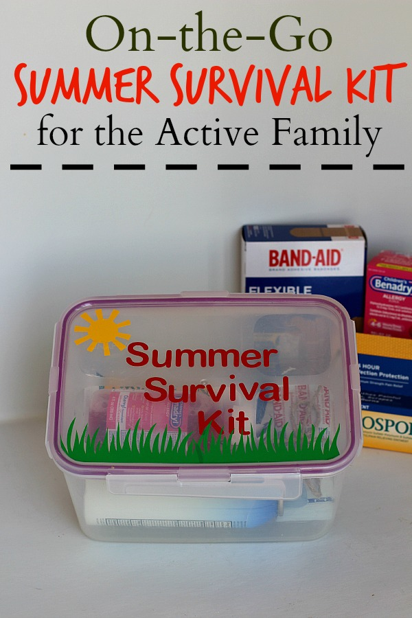 #RewardHealthyChoices #ad On the Go Summer Survival Kit for Active Families