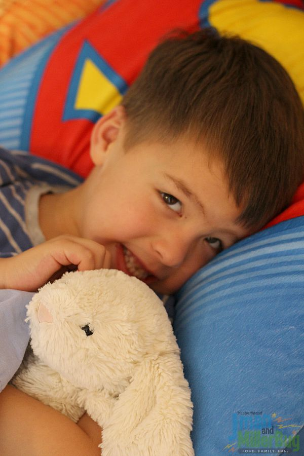 #ConfidentKids #ad Laying Down to Sleep