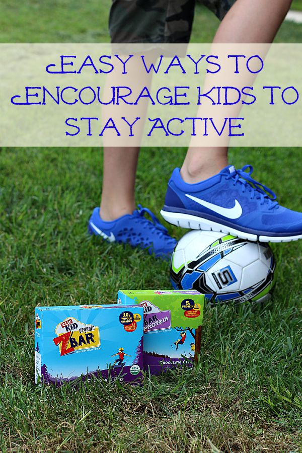 Easy Ways to Encourage kids to Stay Active