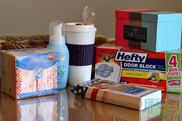 #Hefty4BoxTops #ad Gift Basket Items