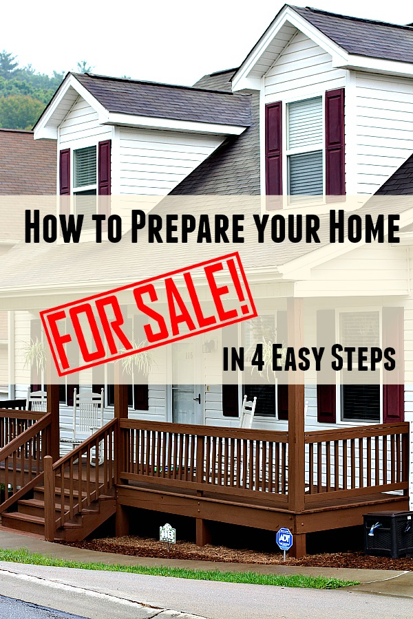 How to Prepare Your Home for Sale in Four Easy steps