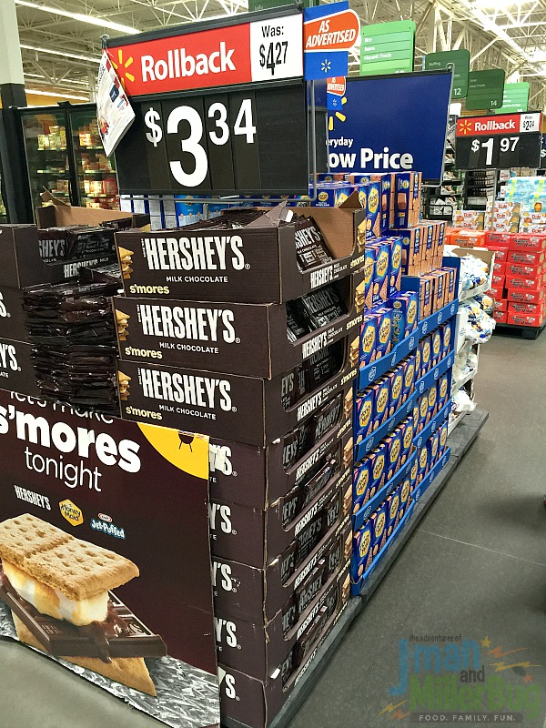 #LetsMakeSmores In Store Shot