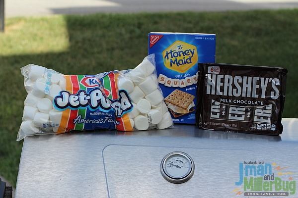 #LetsMakeSmores #ad Smores Ingredients