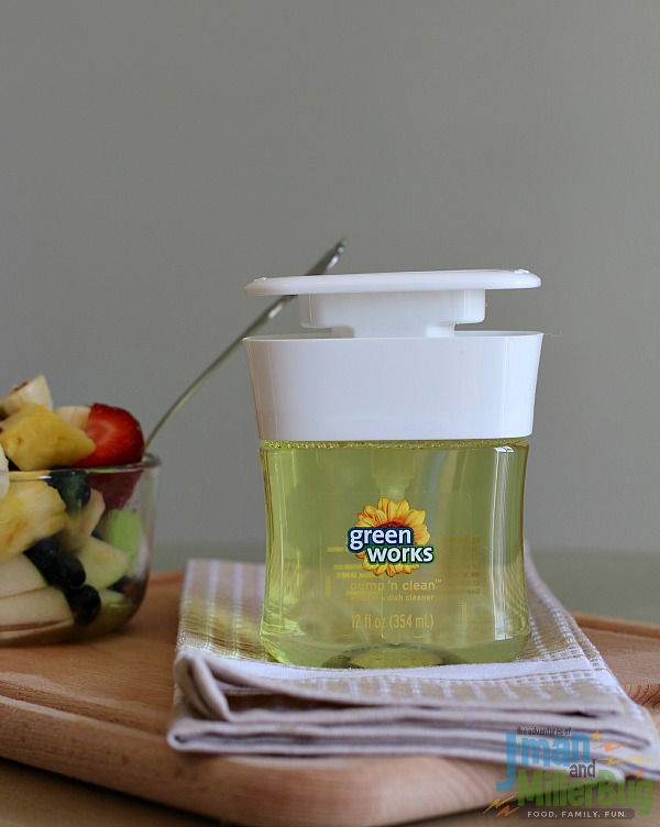 #NaturallyClean #ad Fruit Salad and Green Works