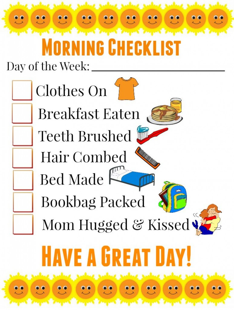 #FuelforSchool #ad Morning Checklist