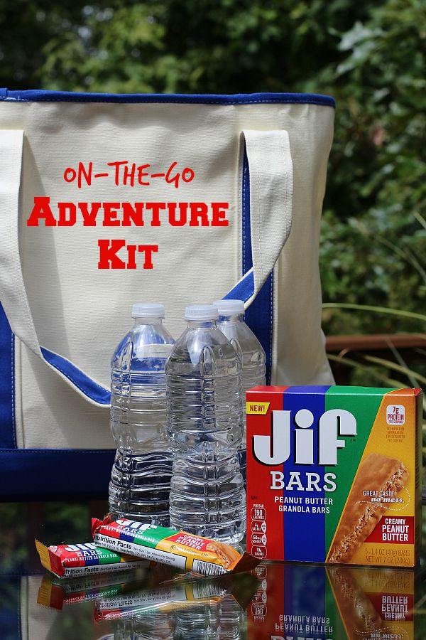 #TeamJif #ad On the Go Adventure Kit