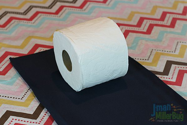 #CraftedExperience #ad Measuring Toilet Paper