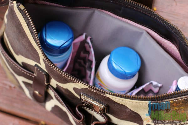 #BeHealthyForEveryPartOfLife #ad DIY Purse Organizer 12