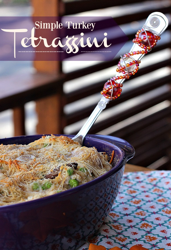 #RecipeTwist #ad Simple Turkey Tetrazzini 1