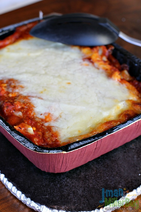 #StouffersHOliday #ad Cooked Lasagna