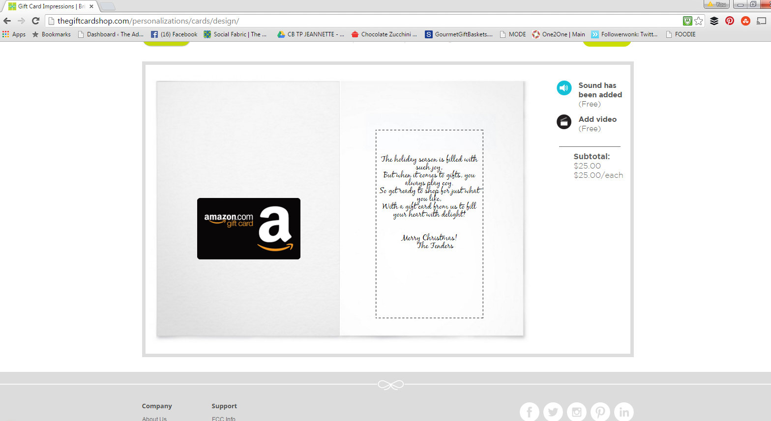 #eHoliday #ad Gift Card Shop 8