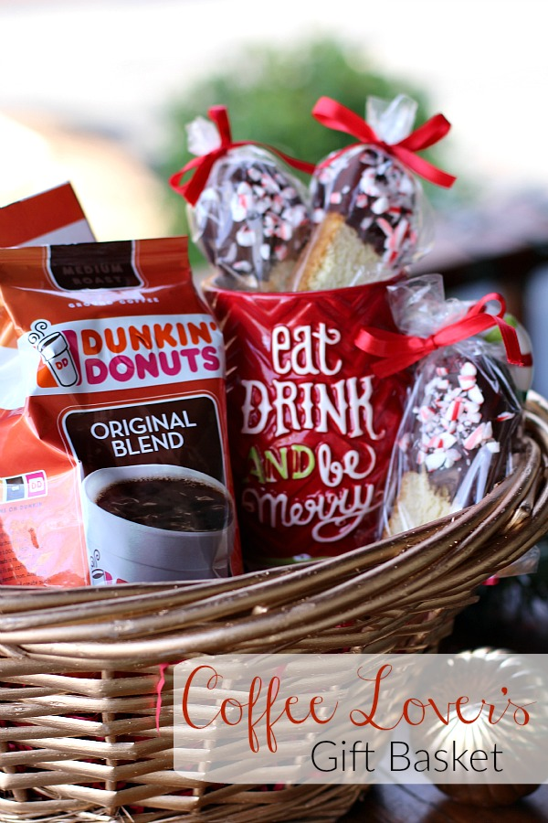 Coffee Lover's Gift Basket