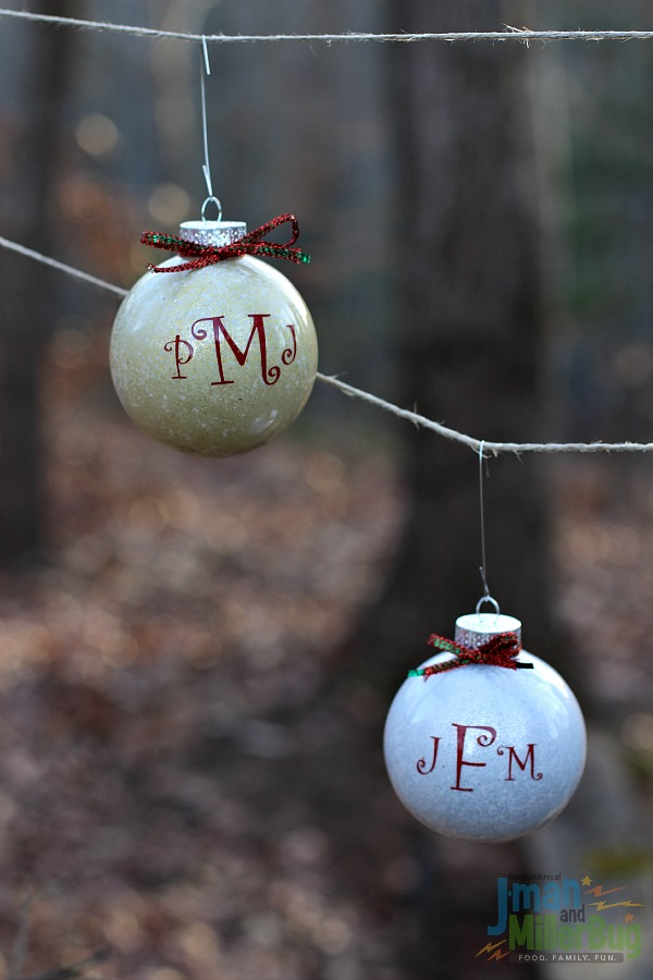 #DoTheMIcroTwist #ad Haning Ornaments