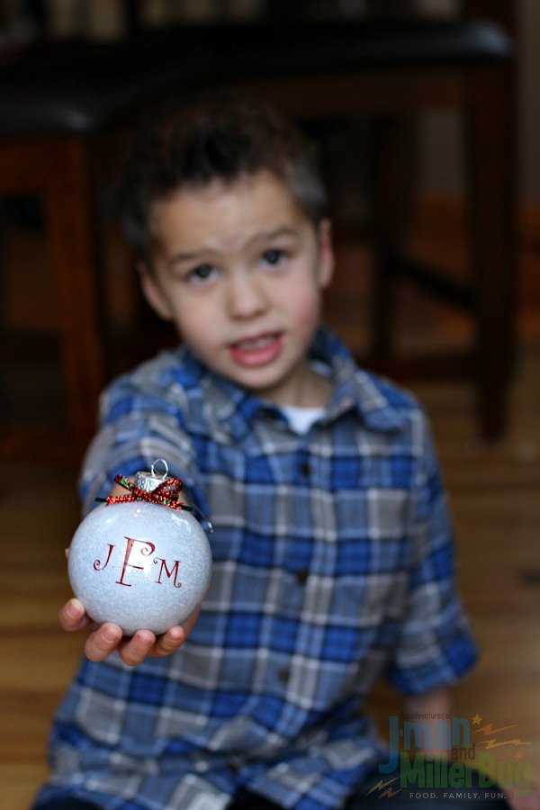 #DoTheMicroTwist #ad Holding Finished Ornament