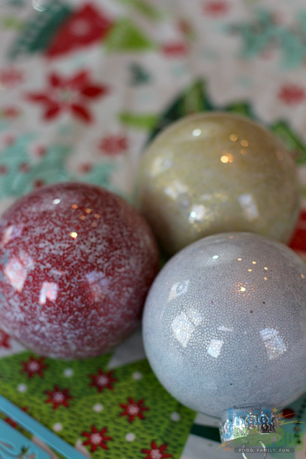 #DoTheMicroTwist #ad Ornaments Drying